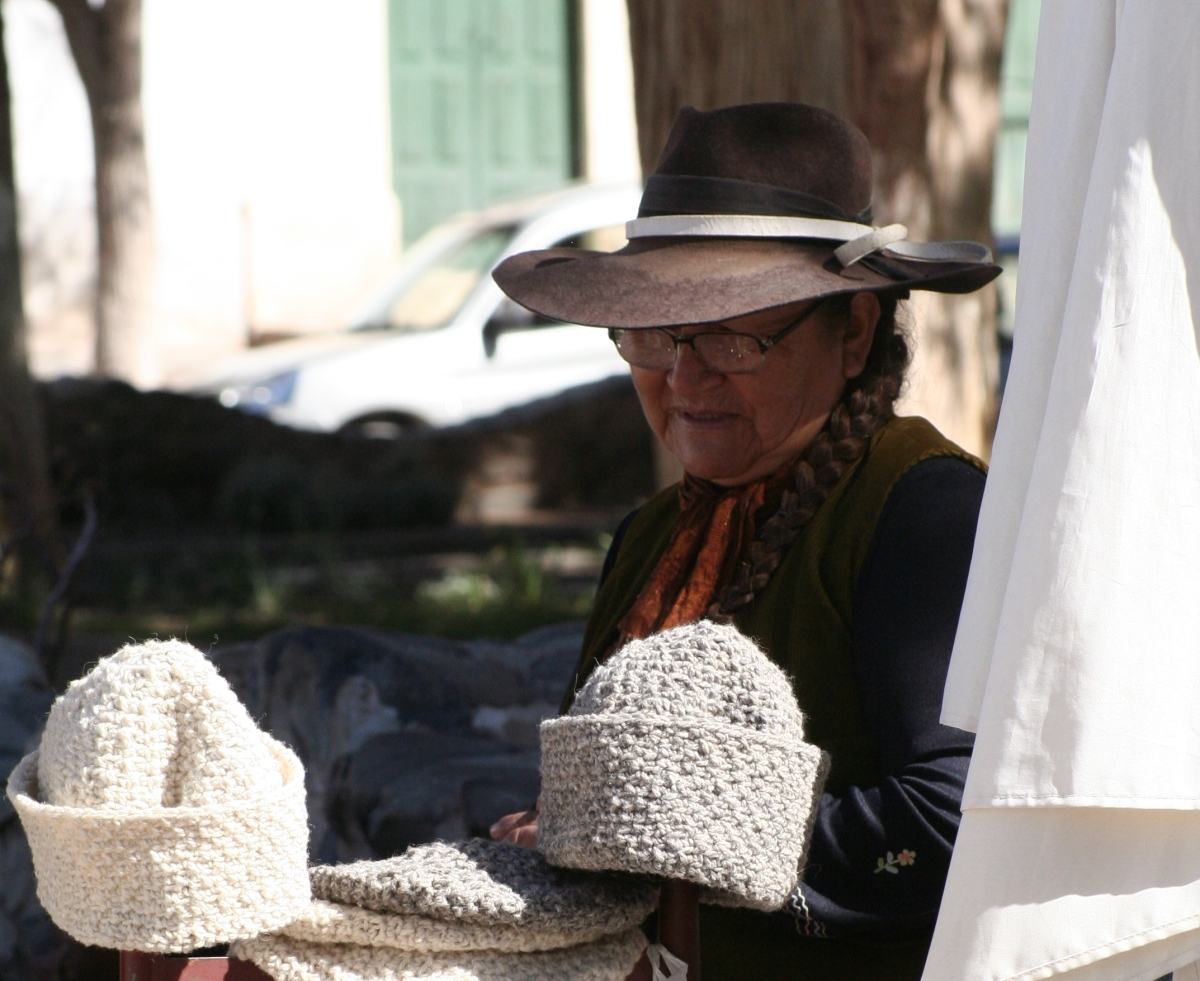 THE HAT SELLER OF PUMAMARCA