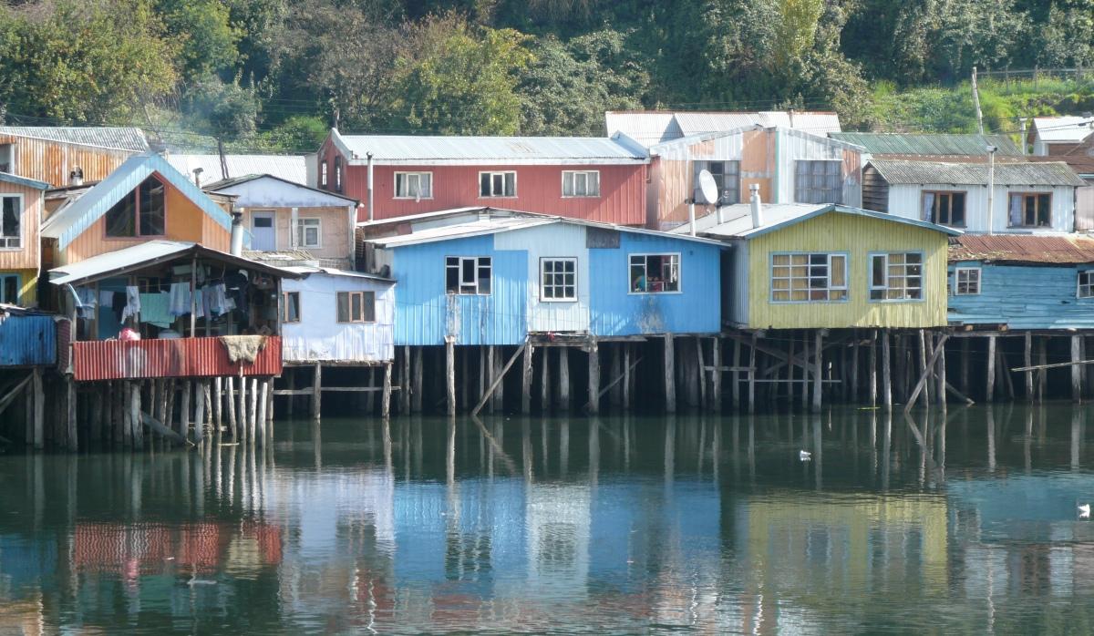 CASTRO, CHILOE ISLAND. CHILE