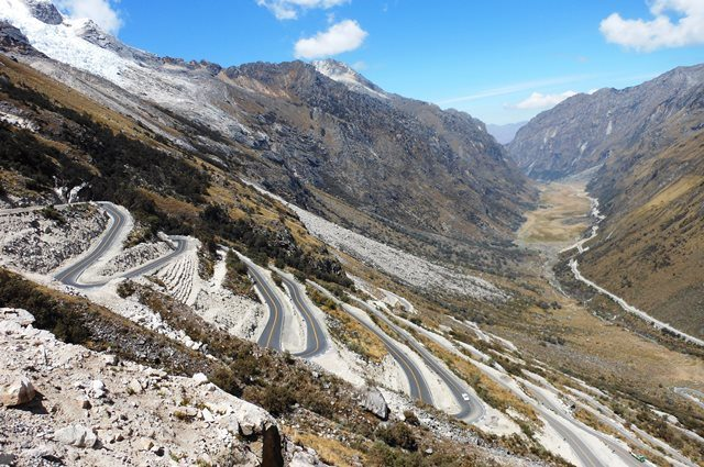 Andean roads