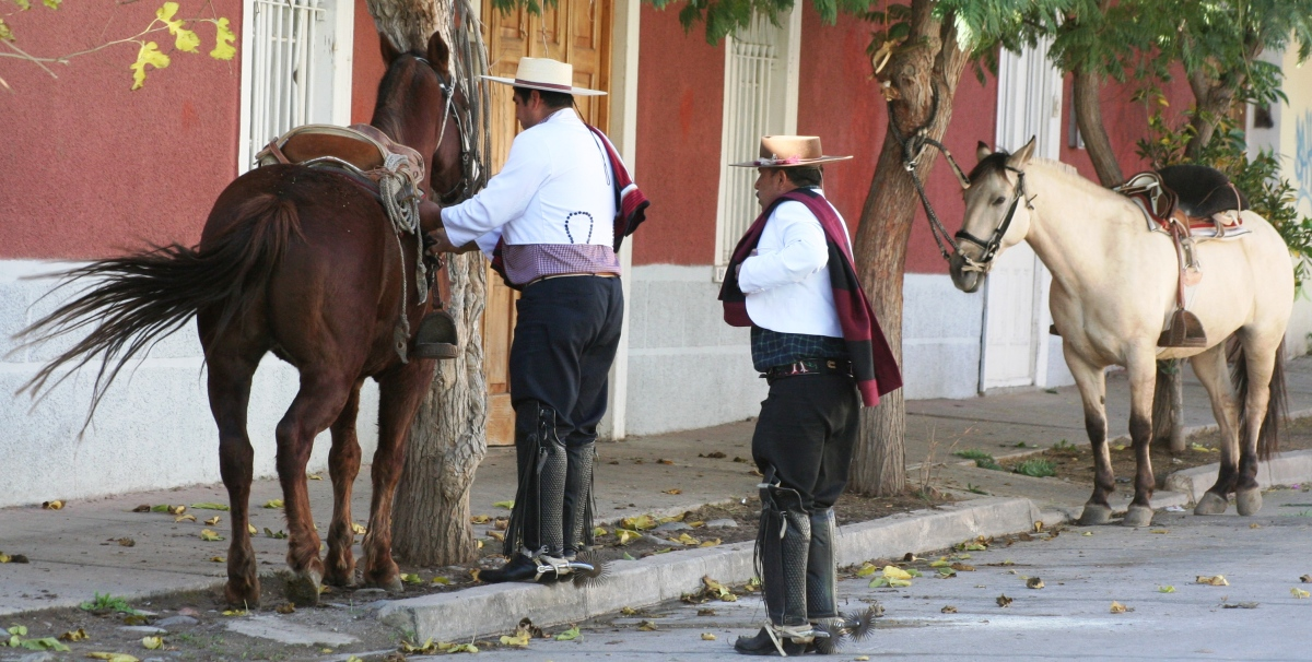 GAUCHOS IN CHILE