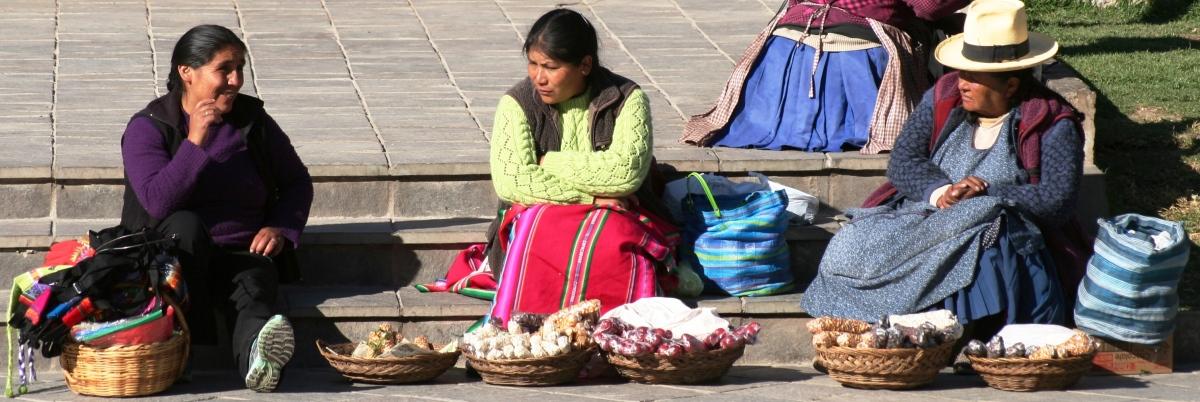 CENTRAL PLAZA, OLLANTAYTAMBO, PERU