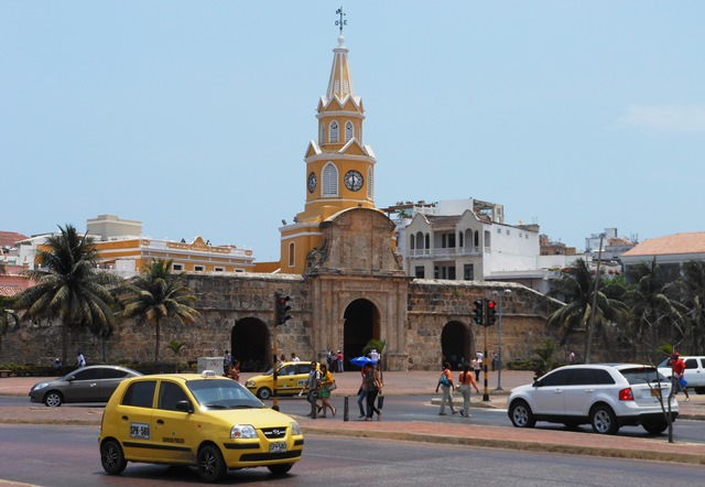 THE 'PUERTA DEL RELOQ' WAS THE PRINCIPAL GATEWAY INTO THE WALLED TOWN.