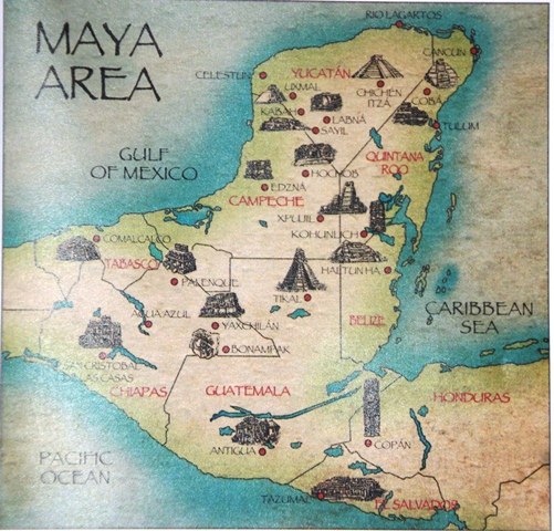 THE GREAT MAYAN CITIES.