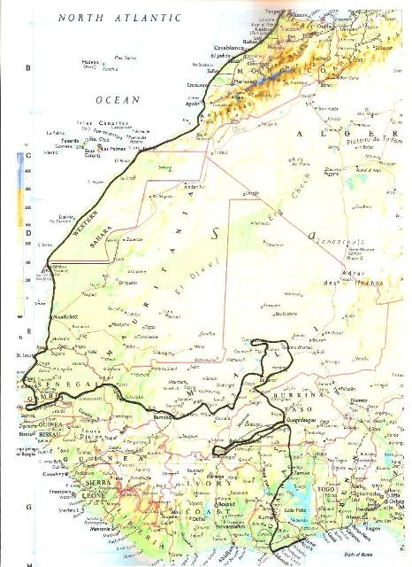 WEST AFRICA November 2008 - February 2009 001