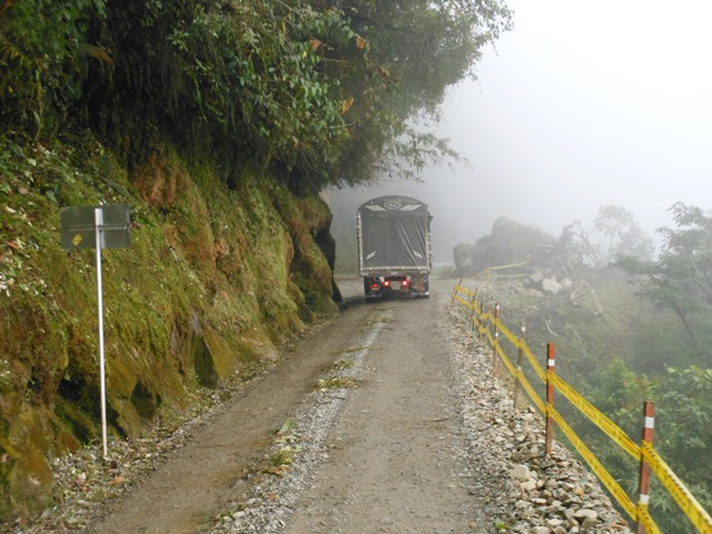 ONE OF SOUTHERN COLOMBIA'S MOUNTAIN ROUTES.