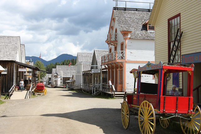 BARKERVILLE, BC, CANADA. IN THE SUNSHINE ...